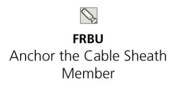 FRBU Anchor the Cable Strength Member